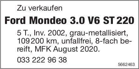 Ford Mondeo 3.0 V6 ST 220 zu verkaufen