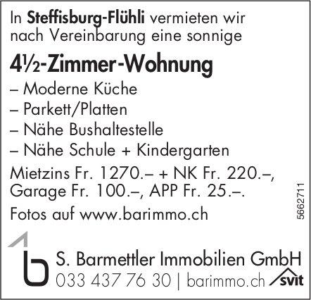 4½-Zimmer-Wohnung, Steffisburg-Flühli, zu vermieten