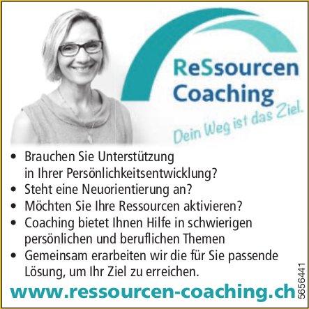 Ressourcen Coaching - Dein Weg ist das Ziel.