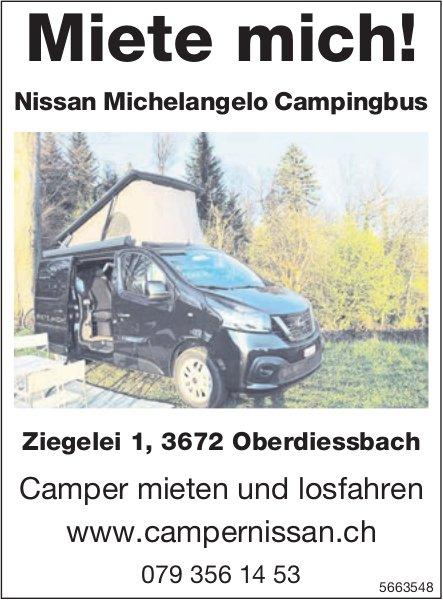 Oberdiessbach - Miete mich! Camper mieten und losfahren