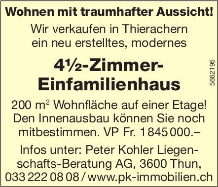 4½-Zimmer- Einfamilienhaus, Thun, zu verkaufen
