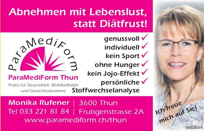 ParaMediForm, Thun - Abnehmen mit Lebenslust, statt Diätfrust!
