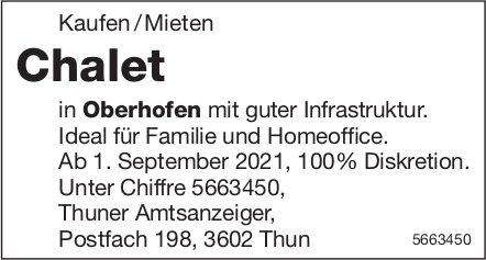 Chalet, Oberhofen, zu verkaufen / vermieten