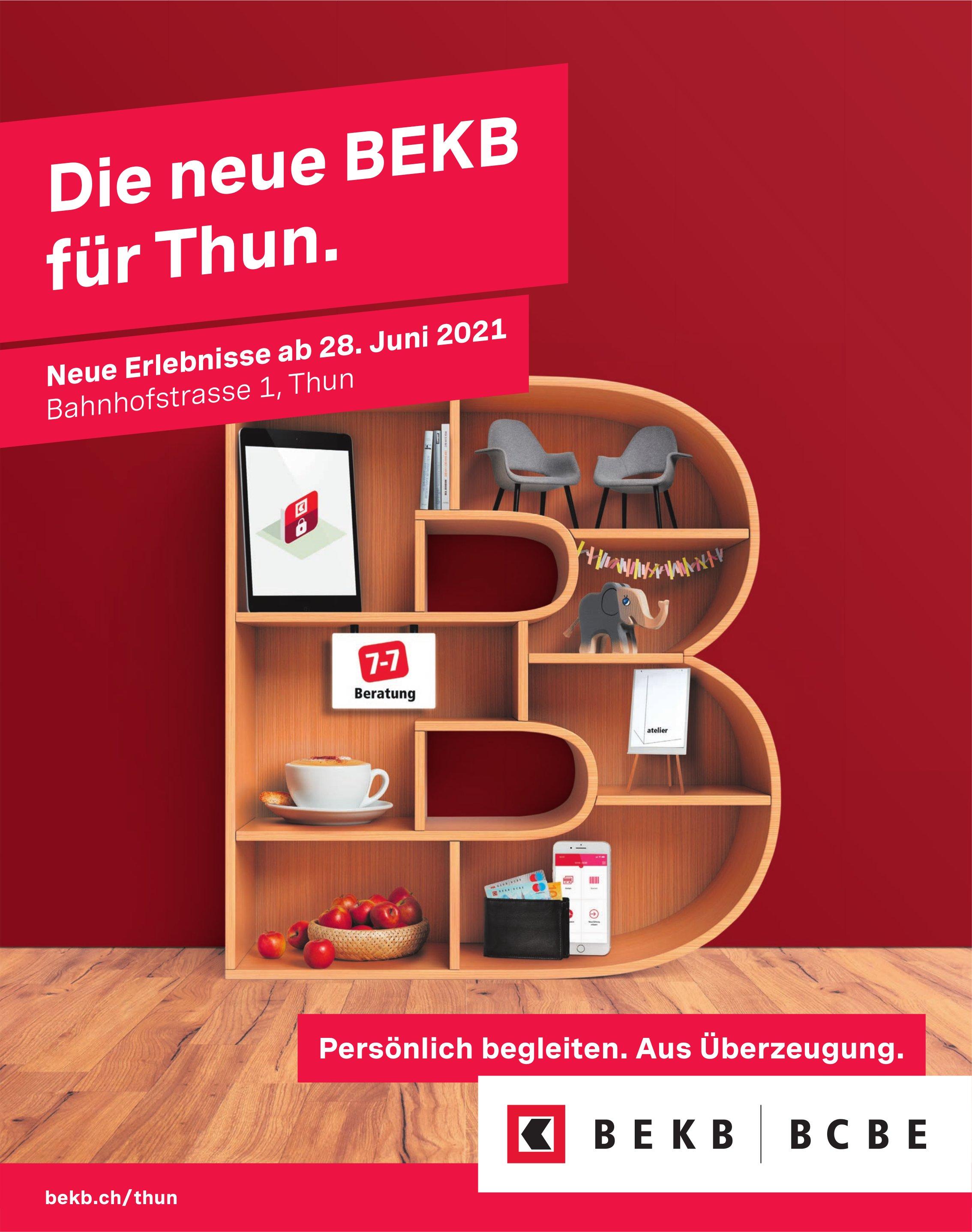 Die neue BEKB, Thun