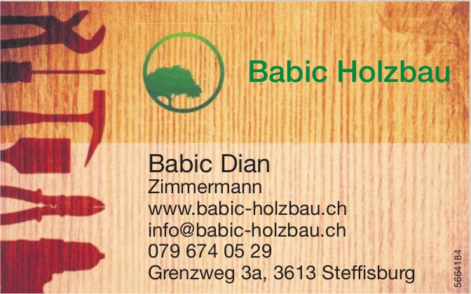 Babic Holzbau, Steffisburg