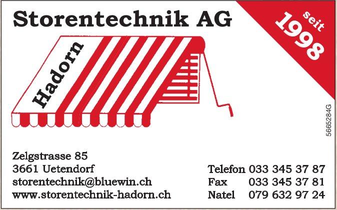 Storentechnik Hadorn AG, Uetendorf