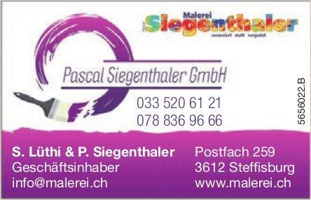 Pascal Siegenthaler GmbH, Steffisburg - Malerei