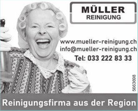 Müller Reinigung, Reinigungsfirma aus der Region