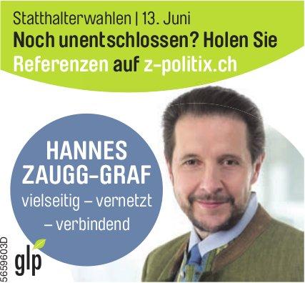Hannes Zaugg-Graf - vielseitig – vernetzt – verbindend