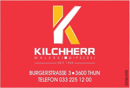 Kilchherr, Thun - Malen und Gipsen