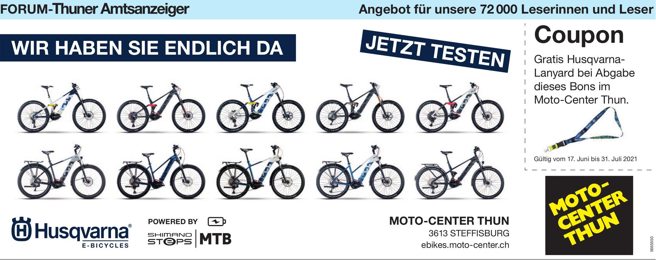 Moto-Center Thun, Steffisburg - Wir haben sie endlich da