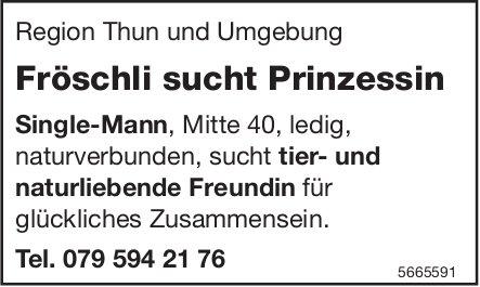 Fröschli sucht Prinzessin, Thun und Umgebung