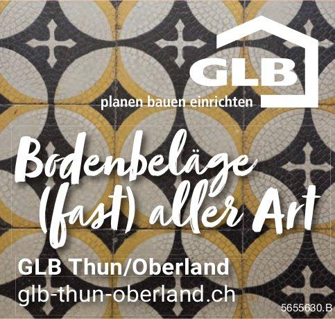 GLB Thun Oberland, Bodenbeläge (fast ) aller Art
