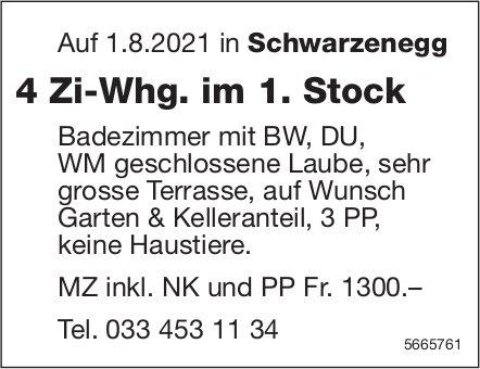 4 Zi-Whg. im 1. Stock, Schwarzenegg, zu vermieten