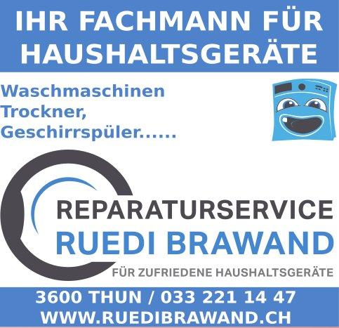 Reparaturservice Ruedi Brawand, Thun - Ihr Fachmann für Haushaltsgeräte