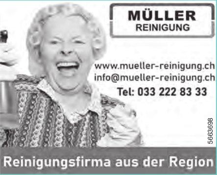Müller Reinigung -  Reinigungsfirma aus der Region