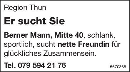 Region Thun - Er sucht Sie