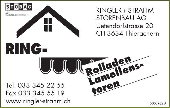 Ringler + Strahm Storenbau AG, Thierachern - Rolladen, Lamellenstoren