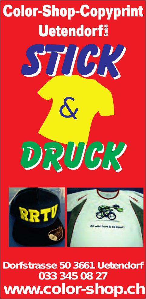 Color-Shop-Copyprint Uetendorf GmbH - Stick & Druck