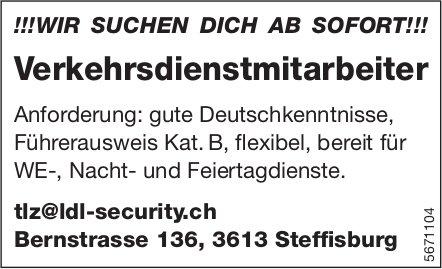 Verkehrsdienstmitarbeiter, LDL-Security, Steffisburg, gesucht