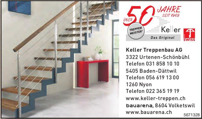 Keller Treppenbau AG, Urtenen-Schönbühl - Über 50 Jahre Treppen Meister