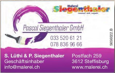 Malerei Pascal Siegenthaler GmbH, Steffisburg