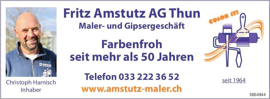 Fritz Amstutz AG, Thun - Farbenfroh seit mehr als 50 Jahren
