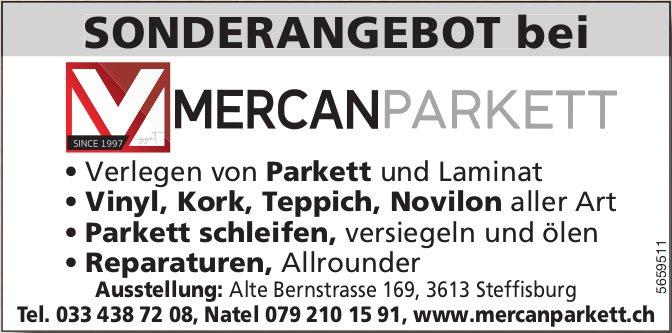 Mercan Parkett, Steffisburg - Sonderangebot