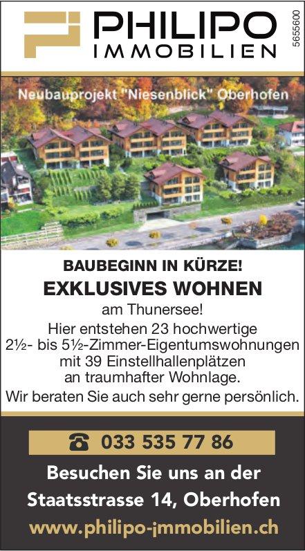 2.5 bis 5.5-Zimmer-Wohnung, Oberhofen, zu verkaufen
