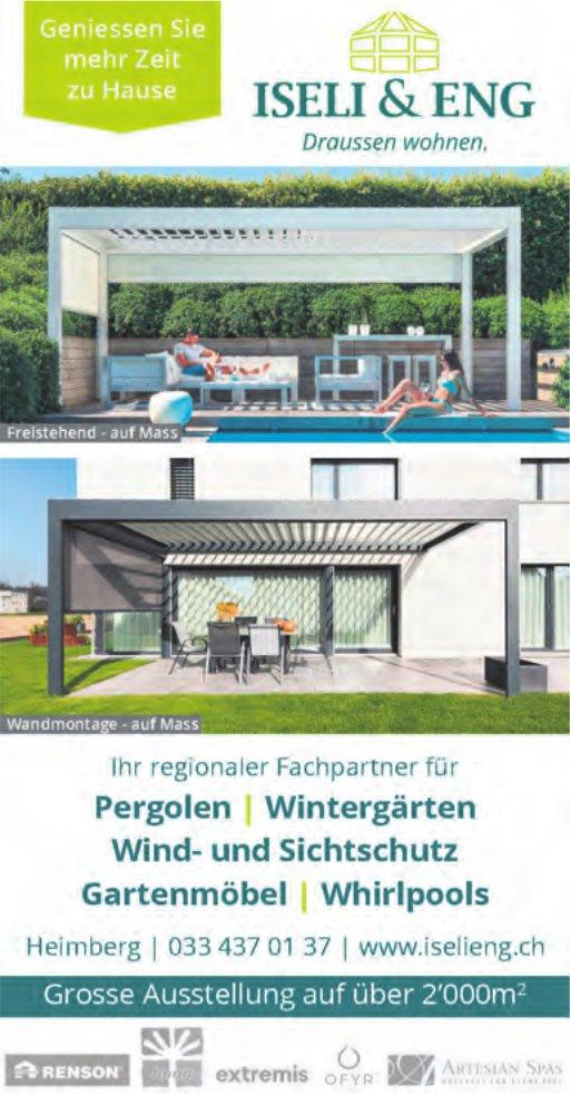 Iseli & Eng, Heimberg - Geniessen Sie mehr Zeit zu Hause