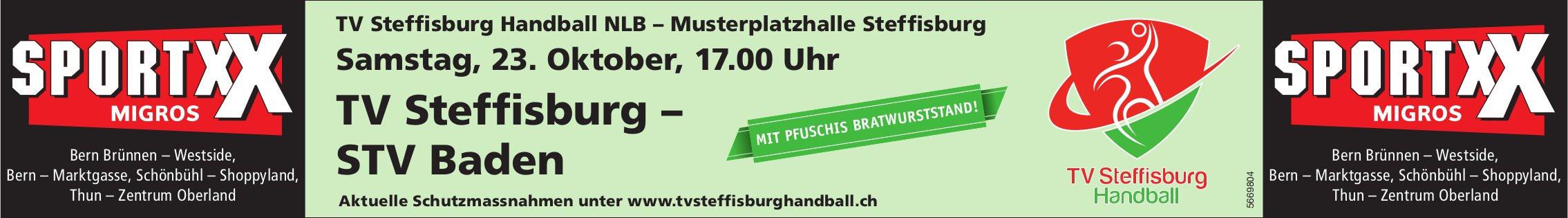 TV Steffisburg – STV Baden, 23. Oktober, TV Steffisburg Handball NLB