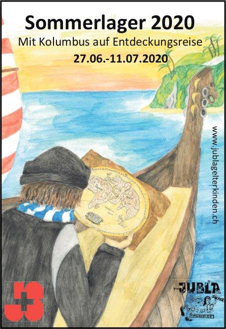 Jubla Sommerlager 2020, 27. Juni bis 11. Juli,