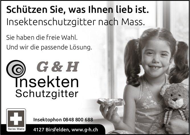 G & H Insekten Schutzgitter, Birsfelden - Schützen Sie,  was Ihnen lieb ist.