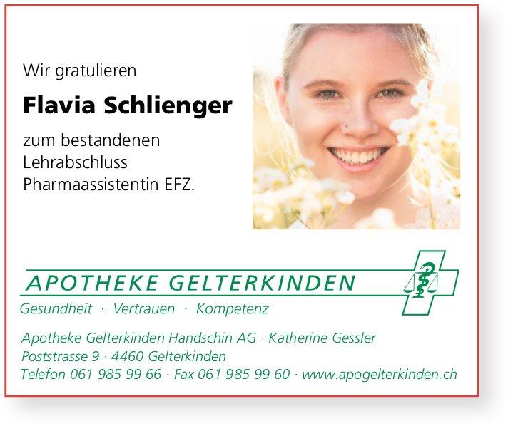 Apotheke Gelterkinden Handschin AG, - Wir gratulieren Flavia Schlienger zur bestandenen LAP