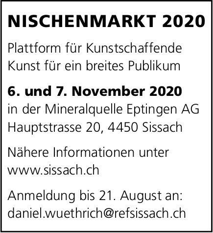 Nischenmarkt, 6. und 7. November, Mineralquelle Eptingen AG, Sissach,