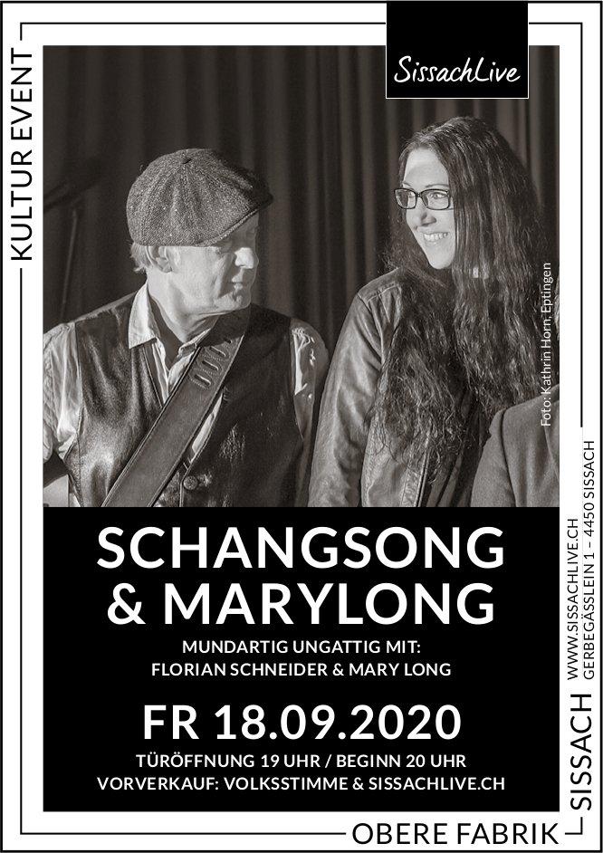 Schangsong & Marylong, 18. September, Obere Fabrik, Sissach