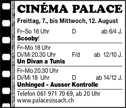 Cinema Palace Sissacj