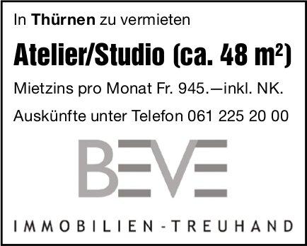 Atelier/Studio (ca. 48 m ) in Thürnen,  zu vermieten