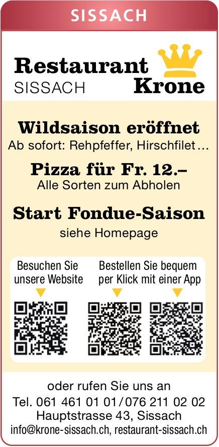 Restaurant Krone Sissach