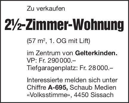 2.5-Zimmer-Wohnung, Gelterkinden, zu verkaufen