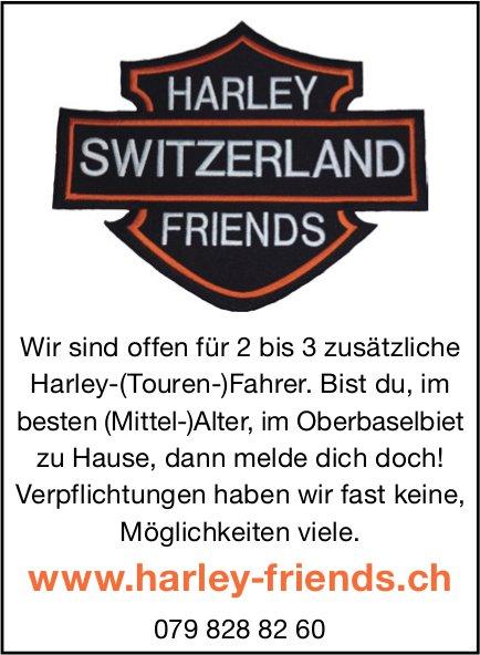 Harley Switzerland Friends, offen für 2 bis 3 Harley-(Touren)Fahrer