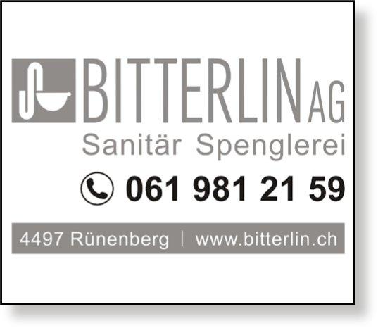 Bitterlin AG, Sanitär Spenglerei