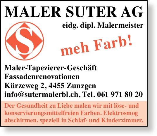 Maler Suter AG, Zunzgen - meh Farb!