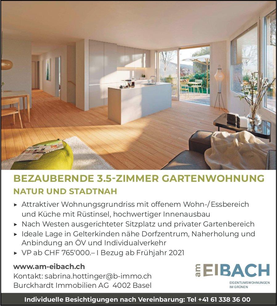 3.5-Zimmer-Gartenwohnung, Gelterkinden, zu verkaufen