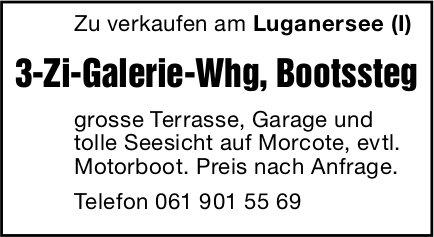 3-Zi-Galerie-Whg, Luganersee (I), zu verkaufen