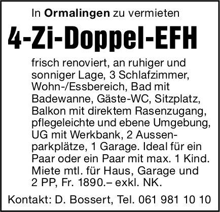 4-Zi-Doppel-EFH, Ormalingen, zu vermieten