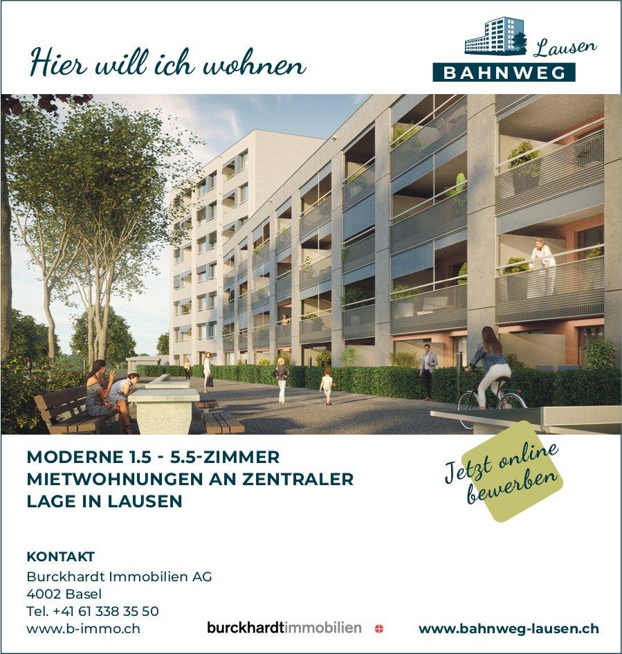 1.5- bis 5.5-Zimmer Wohnungen, Lausen, zu vermieten