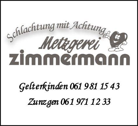 Metzgerei Zimmermann, Gelterkinden - Schlachtung mit Achtung