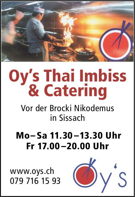 Oy's Thai Imbiss & Catering, Sissach