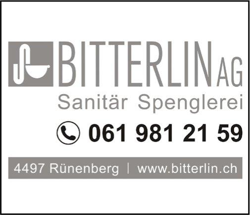 Bitterlin AG, Sanitär Spenglerei, Rünenberg